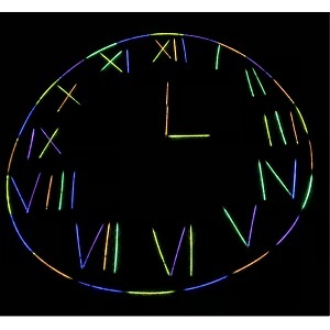 Glow-in-the-Dark Geometry + Neon Time Traveler: Grade 2